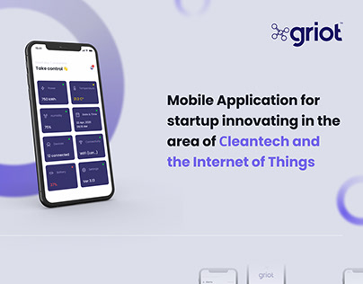Mobile App for Сleantech and the Internet of Things