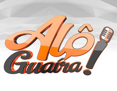 Logo 3D Alô Guaíra