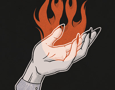 Witched Hand [artwork for sale]