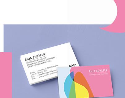 Corporate Design Anja Schäfer – Supervision & Coaching