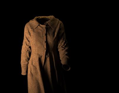 Cloth Simulation 1: Tweed Coat