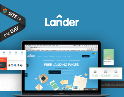 Lander New Website