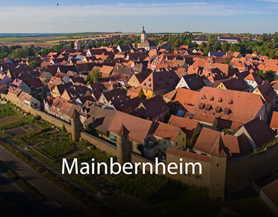 Luftbilder von Mainbernheim