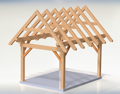 12 x 16 Timber Frame