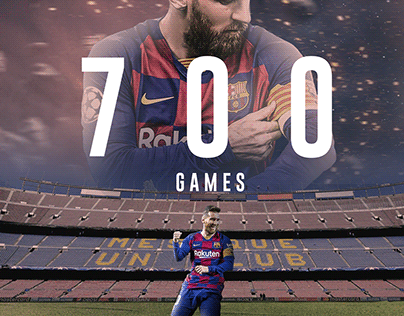 Messi 700 Games
