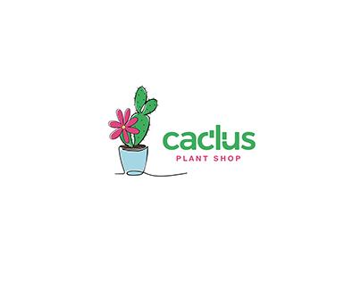 CACTUS -PLANT SHOP BRANDING