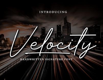 Velocity Signature - Free Download