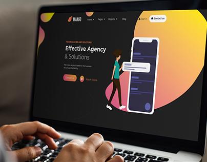 Mango Web UI Design
