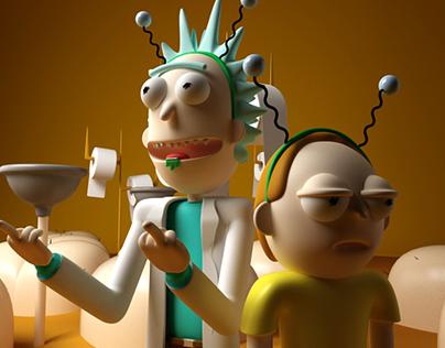 Rick & Morty - Fan Art