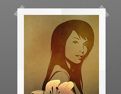Vector Portrait - Rainie Yang
