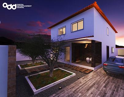 Modelação e Render para Arquitectura - Novembro 2019