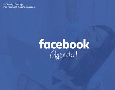 「UX/UI」Facebook agenda !