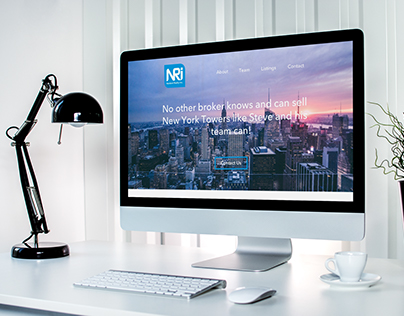 version of home page for NRI Realty