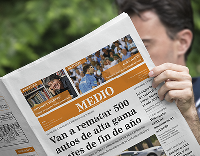 Diseño editorial · Diario Medio