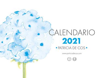 Calendario 2021 / Calendar 2021 Patricia de Cos