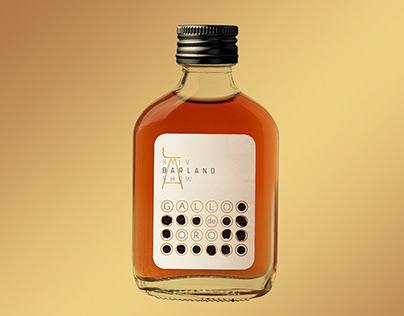 Labels for the cocktail bottles