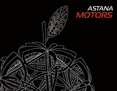 Brandbook for Astana Motors