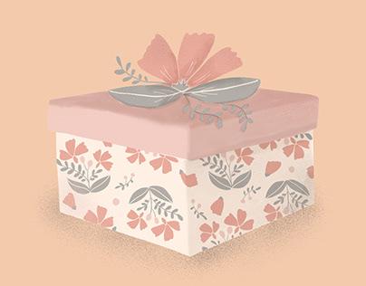 Martha Stewart Weddings: Gift Guide Illustrations