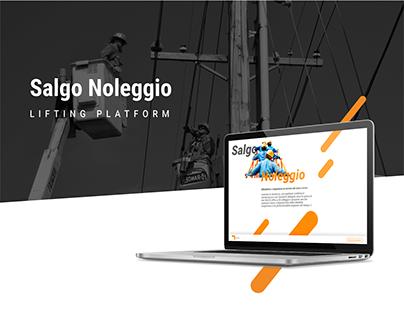 Salgo Noleggio - Landing Page Design