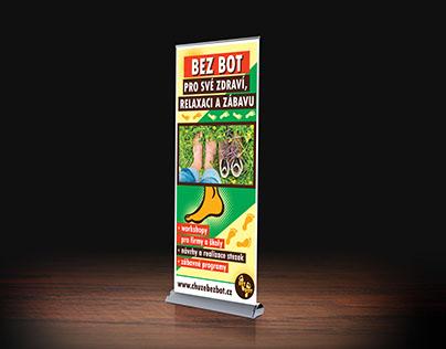 Roll Up banner pre neziskovku OS Bez bot