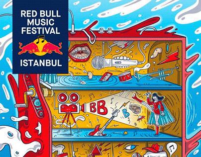 RED BULL Music Festival Poster