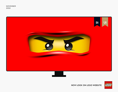 Lego — New Website 2020
