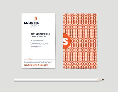 Scouter Design Logo/Business Card