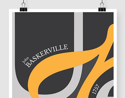 Baskerville Type specimen