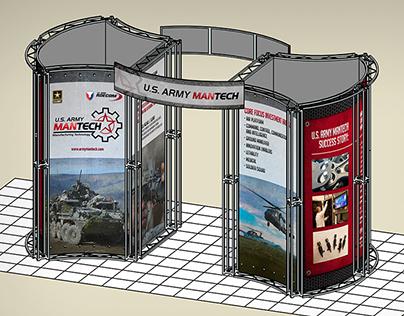 U.S. Army ManTech Conference Exhibit Display