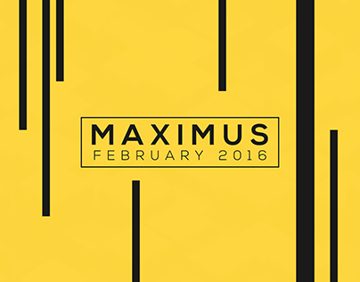 Maximus February 2016 Collection