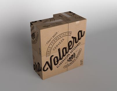 Say it big. Volaera craft beer.