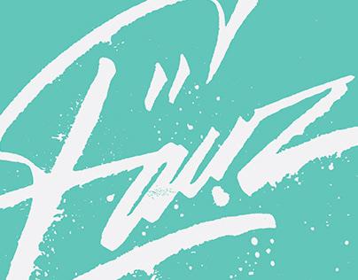 'Fauz' Expressive Logotype