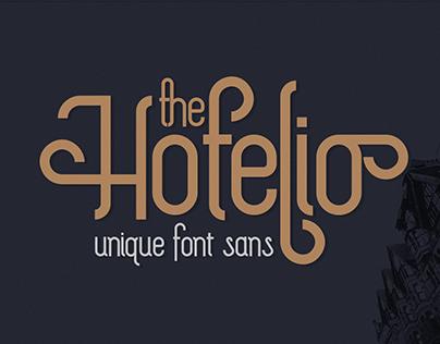 The Hotelio Sans