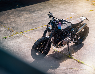 JVB MOTO - BMW RNINET CUSTOM BIKE