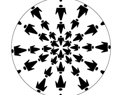 Design de Padronagem - Estampa giratória