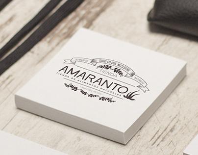 Branding Amaranto - Almacén Natural