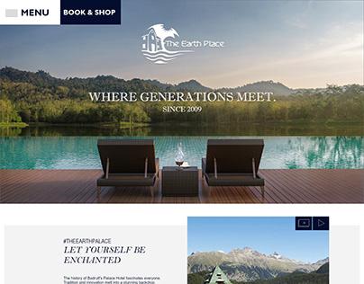 Hotel Website Layout