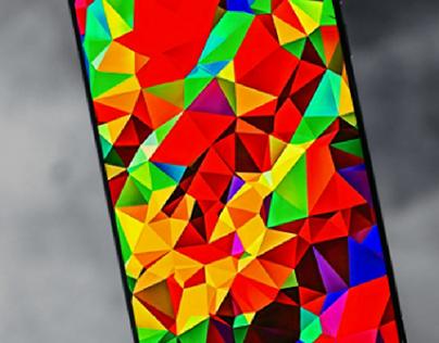 WALLPAPER   Abstract polygons