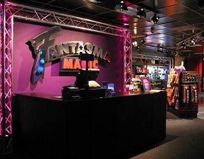 Fantasma Magic Store Design NYC