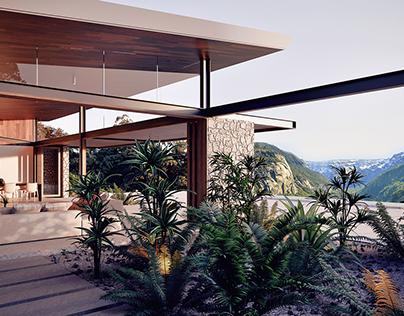 Valley House in Australia