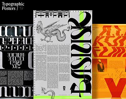 Typographic Posters / 19