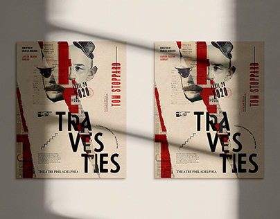 Travesties – Theatre Poster
