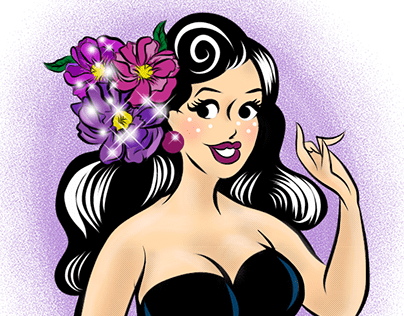 Logo Design: Flower blooms