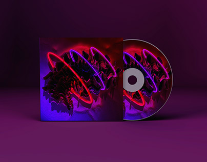 "Verto ""WAVE"" - CD label / cover design"