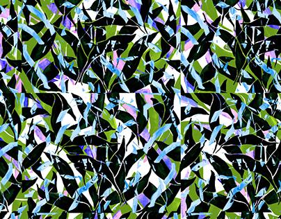 FRACTURES // Textile Design Collection // Masterthesis