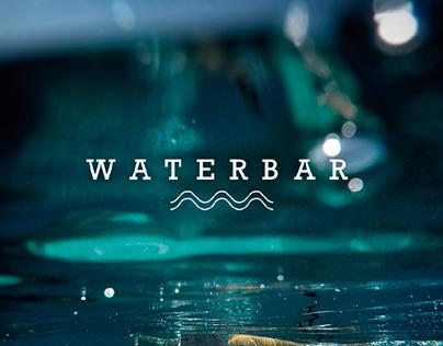 Waterbar Restaurant Logo Concept