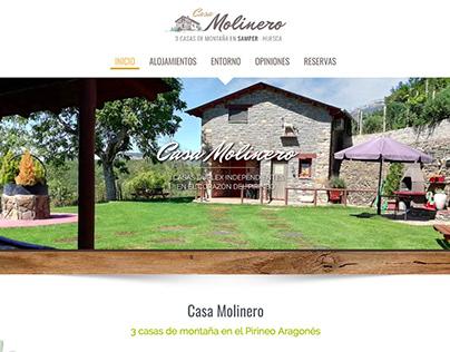 Diseño web para casa rural en Huesca
