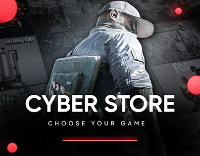 Cyber Store   Game Store and Online Store