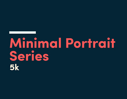 Minimal Portrait Series