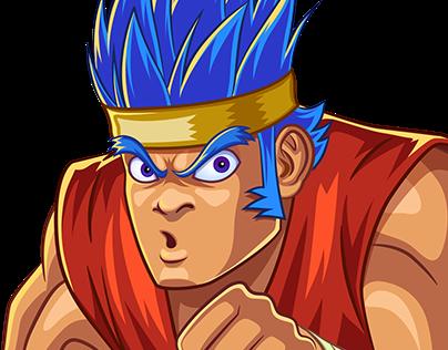 Personaje de Videojuego de lucha